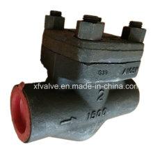Geschmiedetes Stahl A105 Gewinde NPT-Kolben-Rückschlagventil des Gewinde-1500lb