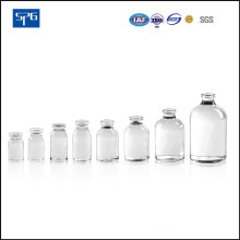 Transparent Moulded Injection Vial for Pharmaceutical