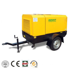 portable diesel air compressor for drilling rig