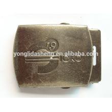 China varios hebilla de cinturón de metal hebilla de cinturón de logotipo personalizado