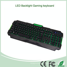 Accessoires pour ordinateur portable Low Price Hot Sale EL Backlit Multimedia Game Keyboard (KB-1901EL-G)
