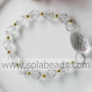 Hot Sale 255MM Length Acrylic Beaded Dropping