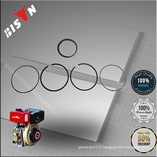 BISON China Taizhou All Sizes of Piston Rings 80mm 92mm 75mm for Generator Water Pump Engine Spare parts