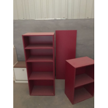 Storage Cabinet Melamine Laminated Book Shelf