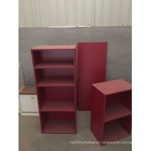 Bedroom Furniture Wood Material Bookshelf