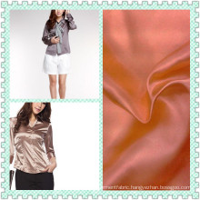 heavy weight Dyed polyester Satin for blouse