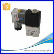 """Válvula de gas mini solenoide de acción directa de 2 V con material de aluminio 1/4 """""""