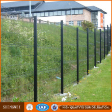 PVC Coated Security Wire Mesh Residential Fencing