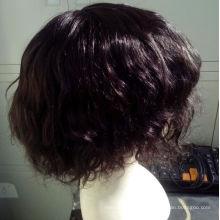 6 Inch Custom Virgin Remy Brazilian Human Hair Toupee For Women Shipping Fast