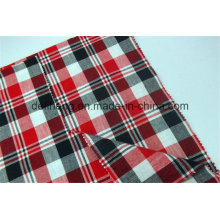 2016 Fashion Checks Yarn Dyed Wholesale Shirting Fabric
