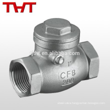 2 3 ball adjustable spring loaded pipe check valve ball bearing