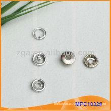Prong Snap botão / pinça com moda Ring Cap MPC1032