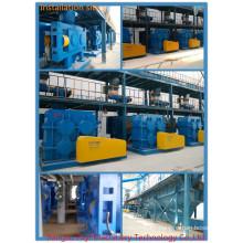 Dry Granulating complete equipment for formula fertilizers for potassium nitrate