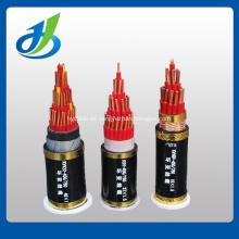 Cable eléctrico plano aislado PVC del conductor de cobre 450 / 750V
