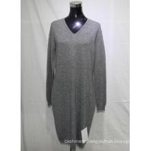 factory supply Women's 100% cashmere V-neck pullover sweater,women's cashmere sweater