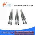 high level professional chinese conical twin screw barrel directly from factory