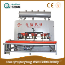 Laminiermaschine für mdf / melamin mdf machine / board hot press