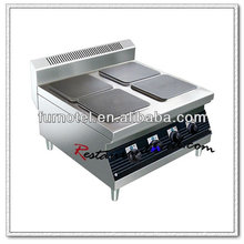 K460 Stainless Steel 4 Hot Plates Table Top Electric Cooker