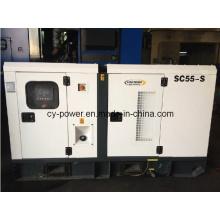 Générateur industriel 100kw avec armoire silencieuse