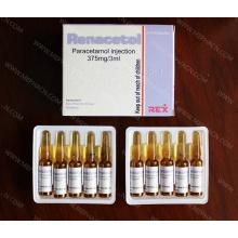 Paracetamol Inyección 300mg / 2ml y Paracetamol
