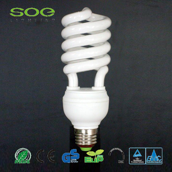 Ce Rohs Half Spiral Energiesparlampe
