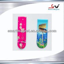 Decoração de papel de cobre promocional ímã de refrigerador barato