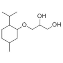 3 - [[5-Metil-2- (1-metiletil) ciclo-hexil] oxi] propano-1,2-diol CAS 87061-04-9