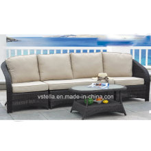 Patio Garden Outdoor Wicker Rattan Sofa Chair