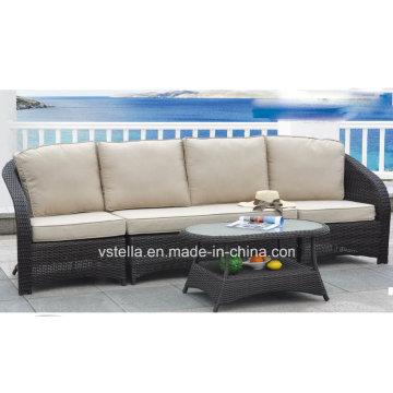 Patio Garden Outdoor Wicker Rattan Sofa Chair