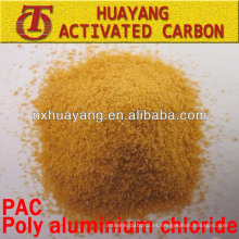 Purificante de agua altamente eficaz Cloruro de aluminio polimérico / PAC