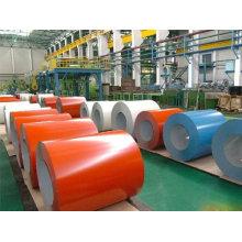 matière première feuille peinte couleur de toiture galvanisés tôles d'acier fabriqué en Chine