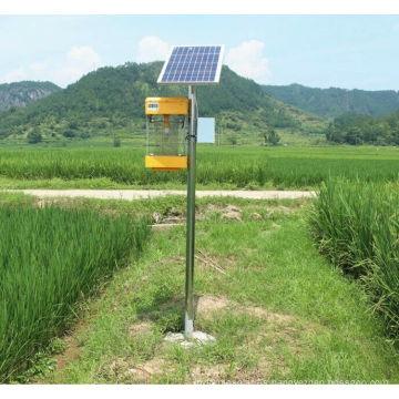 Lámpara Insecticida solar de alta eficiencia solar Lámpara solar de asesino de plagas Lámpara de asesino de mosquitos Solar