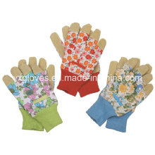 Garden Glove-Pig Split Garden Glove-Working Glove-Safety Glove-Industrial Glove-Leather Working Glove
