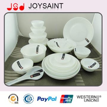 Newest Design Coupe Shape Porcelain Ceramic Dinnerware Set