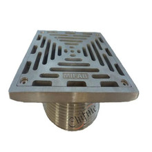 Bathroom Kitchen Square Stainless Steel Floor Drain