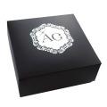 Private Label Silver Foiled Gift Paper Box