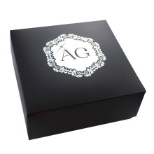 Cheap Small MOQ Black Color Watch Paper Box