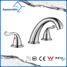 Sanitary Ware 3 Hole Bathroom Basin Faucet (AF1732-6C)