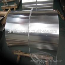 Folha de alumínio para recipientes, folhas SRC, 3003 H24 Alimentação em alumínio, papel de cozinha, fabricação da China