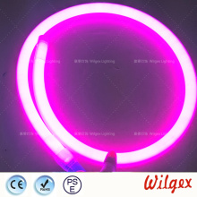 Circular neon LED flex lights waterproof outdoor using