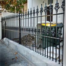 Série de clôture de treillis métallique de différents types