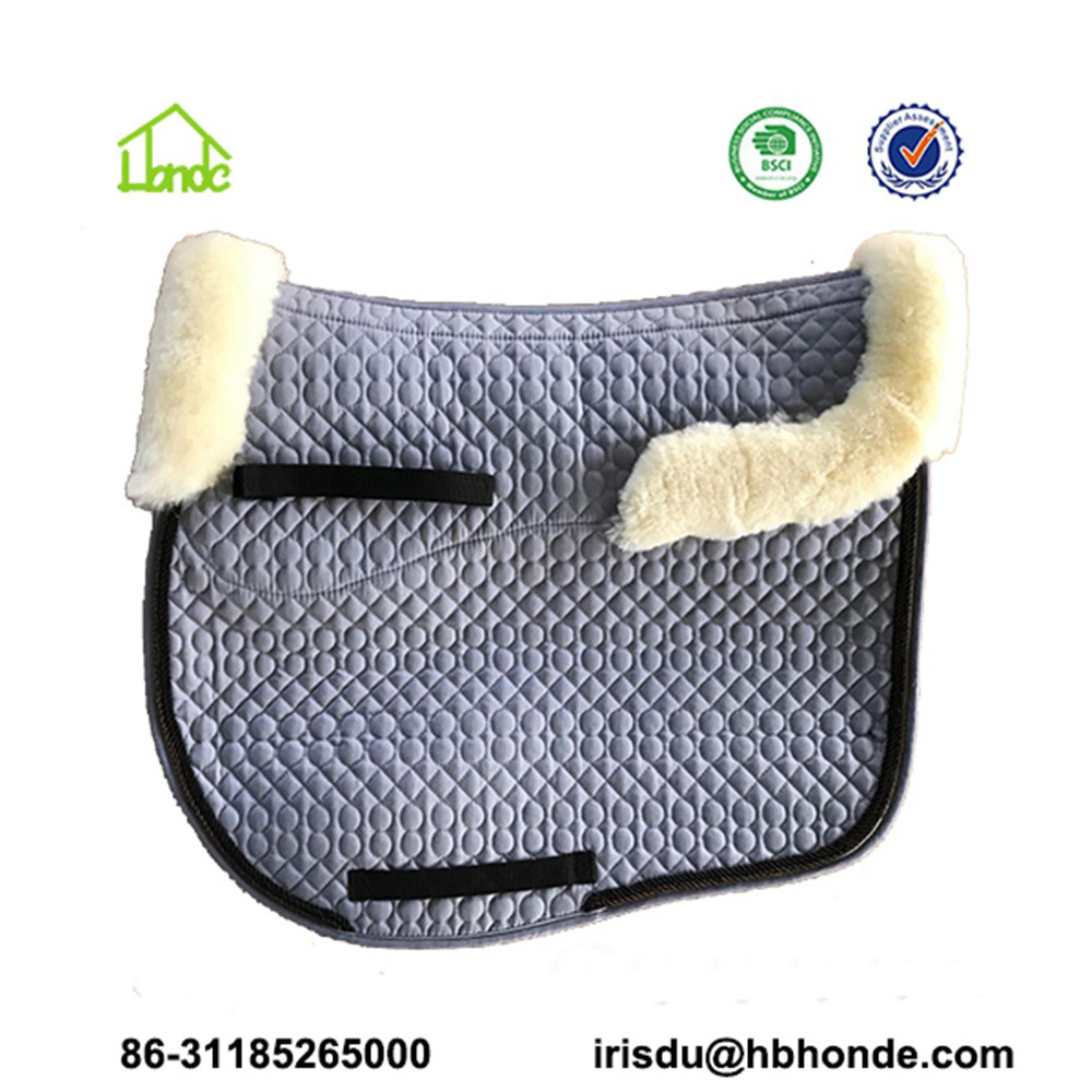 grey saddle pad