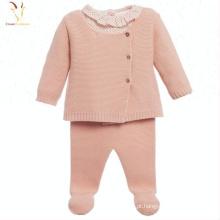 Roupas de bebê meninas inverno em roupas infantis de Cashmere