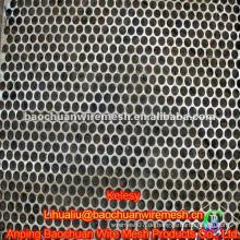 Hochwertiges schwarz verzinktes perforiertes Metall im Laden