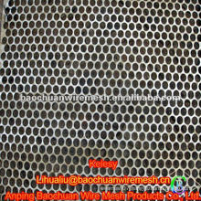 High quality black galvanized perforated metal in store