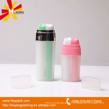 2 * 8ml bouteille en plastique double spray