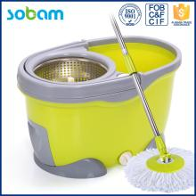 Washing Bucket 360 Spin Floor Cleaning Mop