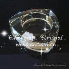 Durable mit niedrigem Preis dekorativen Kristall Aschenbecher