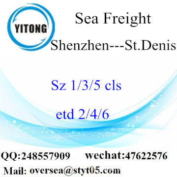 Shenzhen Port LCL Consolidation To St.Denis