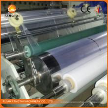 Machine de film d'enveloppe de bout droit de PE Ft-1000 simple couche (CE)